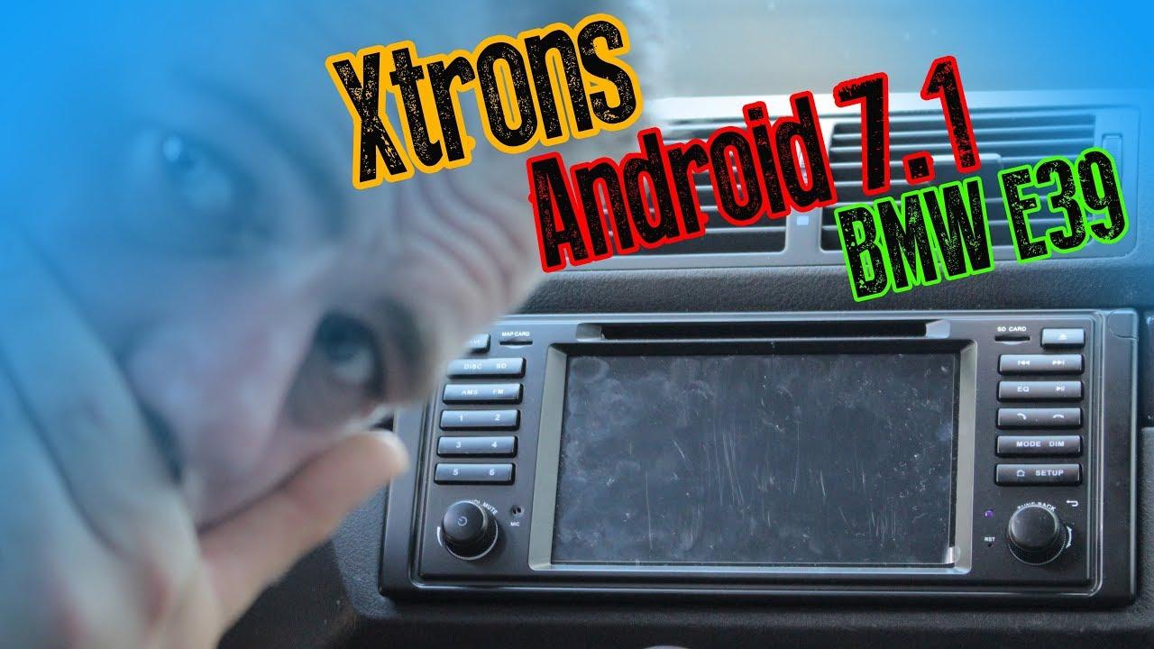 bmw e39 xtrons android 7 1 radio mit ibus app eingebaut. Black Bedroom Furniture Sets. Home Design Ideas