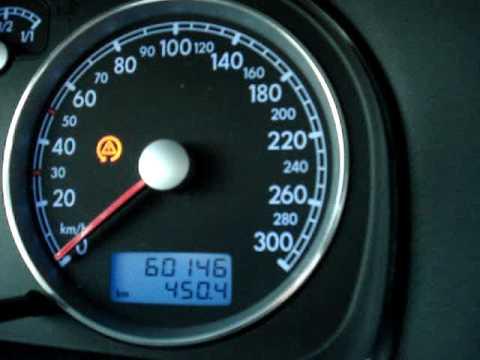 VW Golf 4 R32 0- 180 Km/h