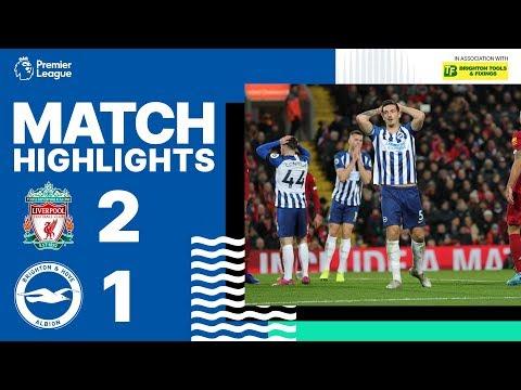 Liverpool 2 Brighton & Hove Albion 1
