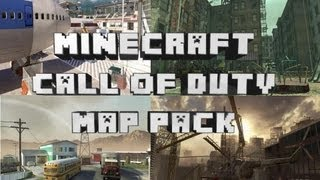 First Call of Duty Minecraft Xbox 360 Map Pack w/Download