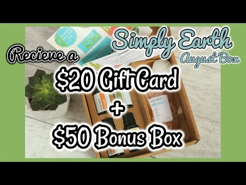 Receive a $20 Gift Card + a $50 Bonus Box...