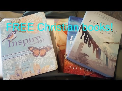 How To Get FREE BIBLES & Christian Books