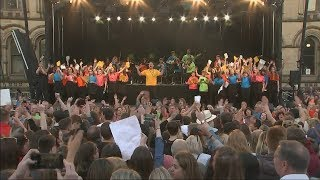 Manchester remembers Arena attack one year on | ITV News
