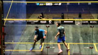 Squash : El Gouna International 2014 - Final Roundup Elshorbagy v Ashour