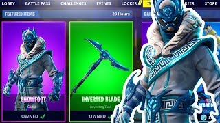 ¡NUEVA PIEL SNOWFOOT! FORTNITE ITEM SHOP COUNTDOWN NUEVAS PIELES (Fortnite Battle Royale LIVE)