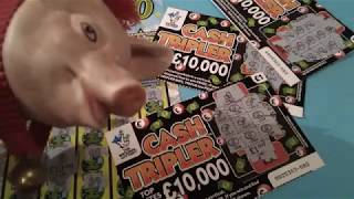 New Monday Scratchcard game £40.00..includes Christmas Event.& £20,000 Green..Cash Triplet.etc