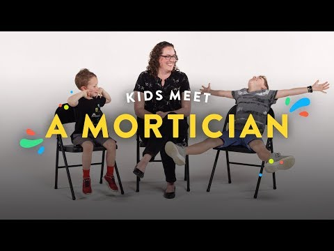 Kids Meet a Mortician | Kids Meet | HiHo Kids