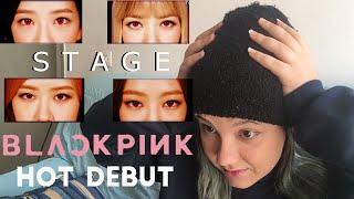 160814 인기가요(Inkigayo)  휘파람(Whistle) + 붐바야(Boombayah) - BLACKPINK | STAGE REACTION