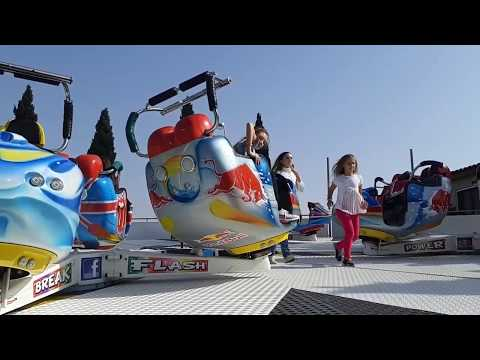 Лунапарк./ Allou! Fun Park! Greece. Urban fun park
