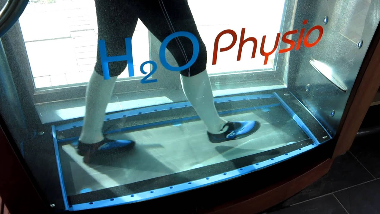 HYDRO PHYSIO LIfestyle Underwater Treadmill - YouTube