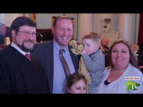 Union County - Reorganization FH Hudak Oath and Greeting - Union County NJ