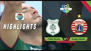 Goal Reinaldo Lobo - PSMS Medan (2) vs Persija (1) | Go-Jek Liga 1 bersama Bukalapak
