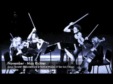 November  Max Richter  Sonus Quartet