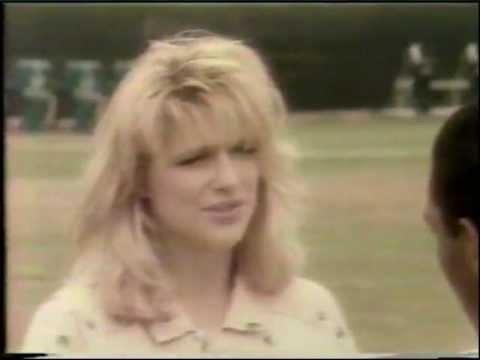 1986 Eleanor Mondale - L.A. RAIDERS & MARCUS ALLEN music video