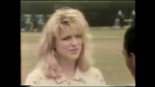 1986 Eleanor Mondale - L.A. RAIDERS & MARCUS ALLEN music video