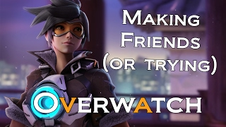 Overwatch - Tracer - Making Friends