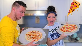 MAKING PIZZA FROM SCRATCH!