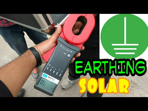 Earthing Resistance Clamp meter check