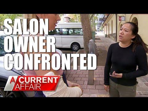 ACA reporter hospitalized after salon visit | A Current Affair