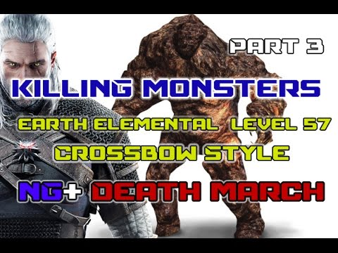 How To Kill Earth Elemental Witcher 3