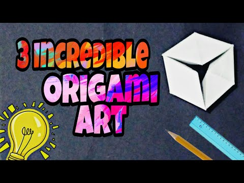 3 Incredible Origami Crafts | Easy stuffs | Origami Ideas |