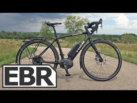 Trek CrossRip+ Video Review - $4.5k Electric Road Bike, 28 MPH, Gravel Grinder, Touring Platform