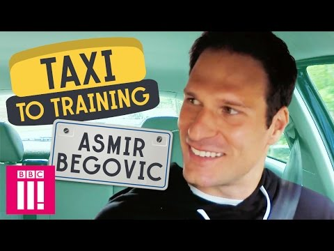 Chelsea's Asmir Begović | Taxi To Training
