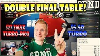 DOUBLE FINAL TABLE IM NEUEN GRND STUDIO!   Poker Stream Highlights 16.06.2019