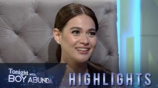 Gambar cover TWBA: Bea answers if the name of the man she will marry is Gerald