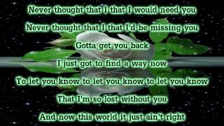 Air Supply   Lonely Is The Night With Lyrics