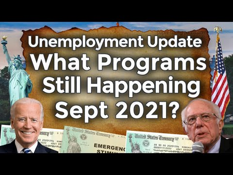 Unemployment After Sept 2021 Programs Still Happening 4th Benefits Extension UPDATE Fed-Ed PUA PEUC