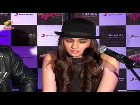 Alia Bhatt Singing Main Tenu Samjhawan Ki Song @ Humpty Sharma Ki Dulhania - Bollywood News