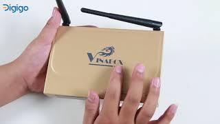 Mở hộp Android TV Box Vinabox X2, rẻ mà hiệu quả