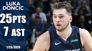 Luka Doncic drops 25 points, 7 assists for Mavericks vs. Jazz | 2019-20 NBA Highlights