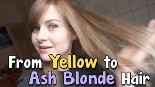 Fix Brassy Blonde Hair | Loreal Excellence 7.1 Ash Blonde
