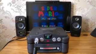 Repeat youtube video Super Mario 64 Disk Version - Boot on 64DD