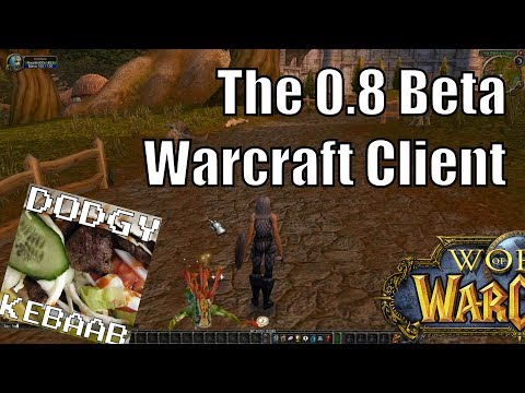 The 0.8 World of Warcraft Beta Client