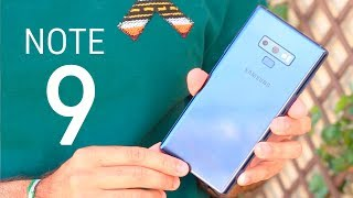 GALAXY NOTE 9, LO PROBAMOS!