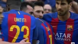 paco alcacer gol fc barcelona vs athletic bilbao 3 0 la liga 2017 hd