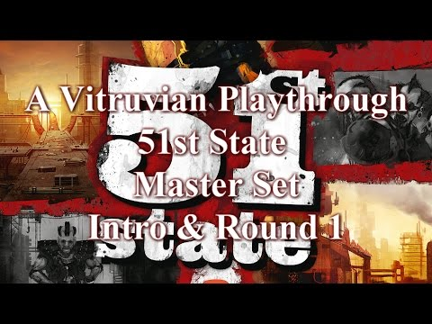 Vitruvian Playthrough: 51st State Master Set - Intro + Round 1