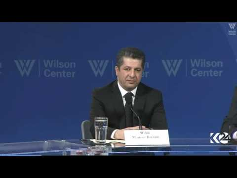 Masrour Barzani, Wilson Center Panel - Washington DC