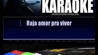 Karaokê Luiz Caldas -  Haja  Amor