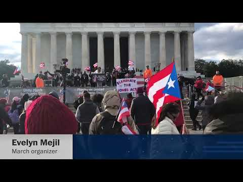 Download Youtube: Puerto Rico Unity March draws hundreds in plea for disaster aid