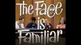 """Game Show """"The Face Is Familiar"""" -  1966"""