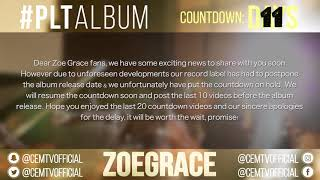 Zoe Grace - #PLTAlbum Countdown: (Mighty You Are - The Walls Group)