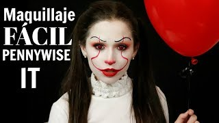 Video MAQUILLAJE FACIL PARA HALLOWEEN | IT PENNYWISE | LAURA MEJIA download MP3, 3GP, MP4, WEBM, AVI, FLV Agustus 2018