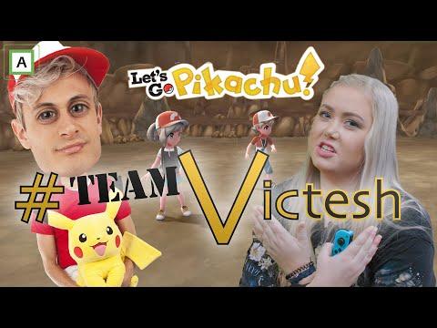 AGNETESH HJELPER TIL - Let´s Go Pikachu