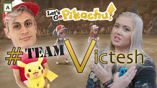 AGNETESH HJELPER TIL - Let´s Go Pikachu 2