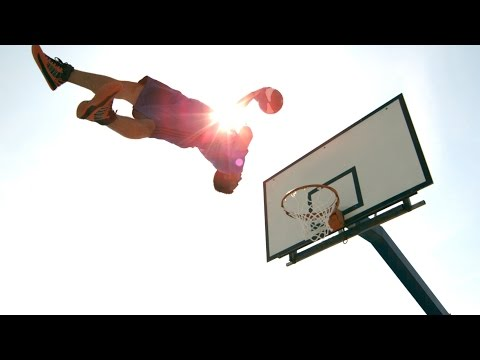 Geile Basketball Freestyle Dunks in 4K
