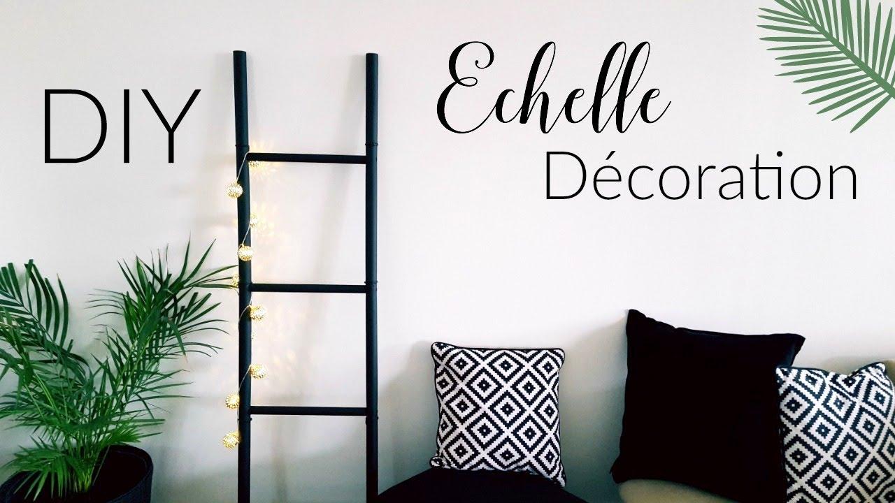 Diy comment fabriquer une echelle de d coration en bois Echelle de decoration
